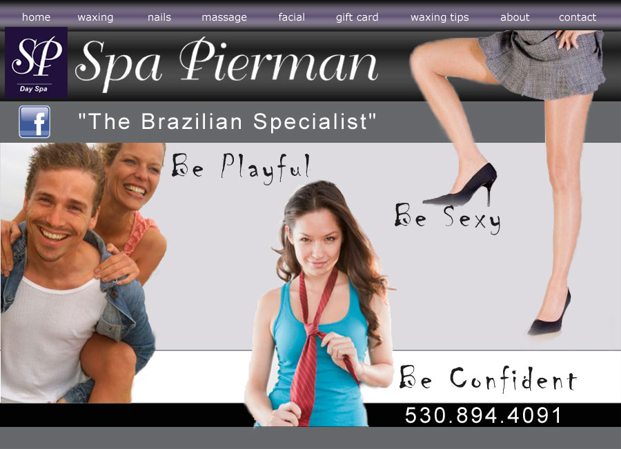 Massage, Facial, Brazilian Waxing | Spa Pierman Chico California Day Spa